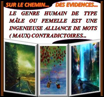 SUR LE CHEMIN DES EVIDENCES